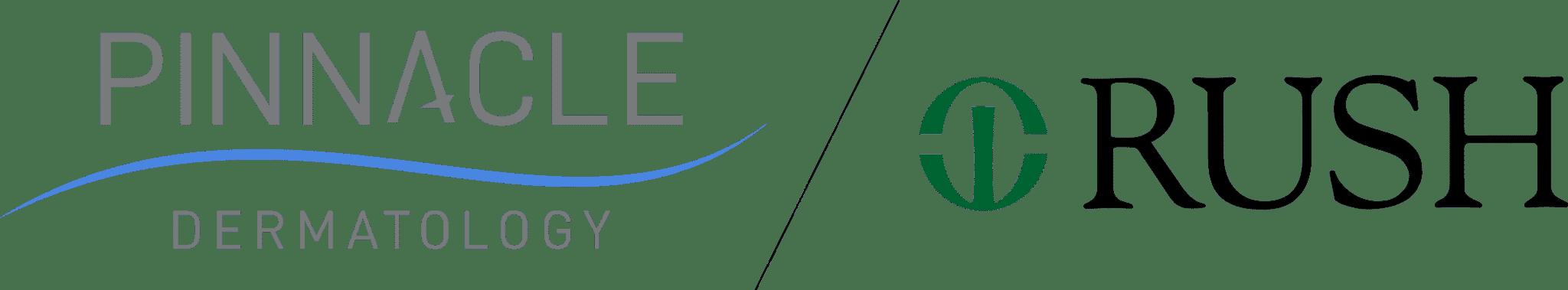 Pinnacle Dermatology Rush Logo