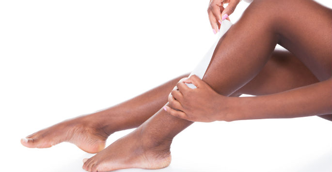 woman's legs
